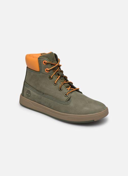 Stiefeletten & Boots Timberland Davis Square 6 Inch Boot grün detaillierte ansicht/modell