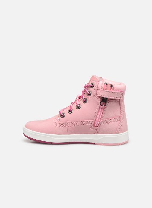 Boots en enkellaarsjes Timberland Davis Square 6 Inch Boot Roze voorkant