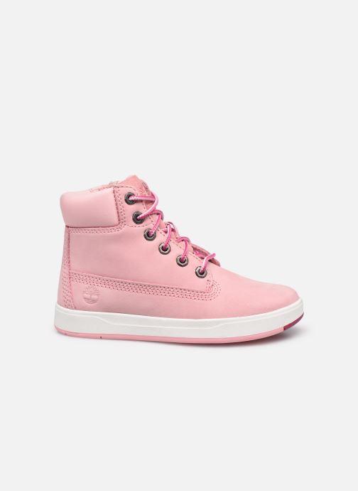 Boots en enkellaarsjes Timberland Davis Square 6 Inch Boot Roze achterkant