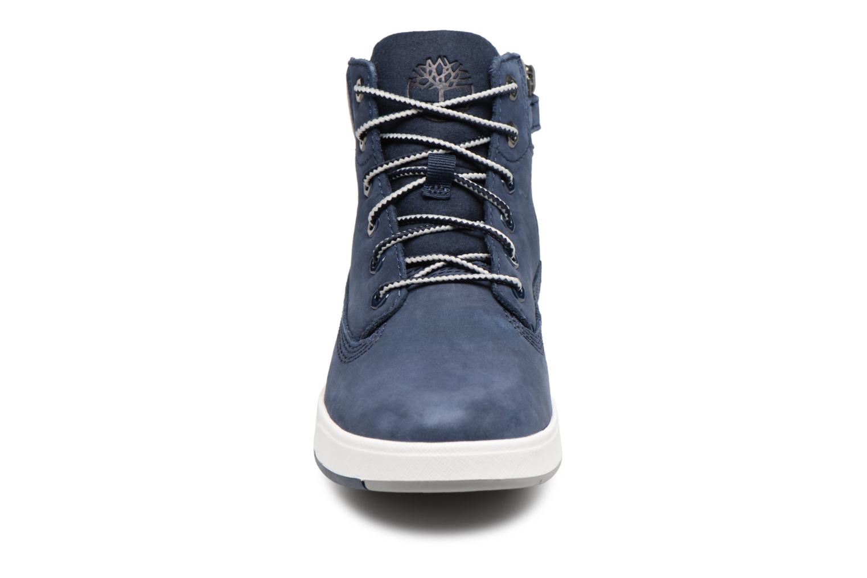 Bottines et boots Timberland Davis Square 6 Inch Boot Bleu vue portées chaussures