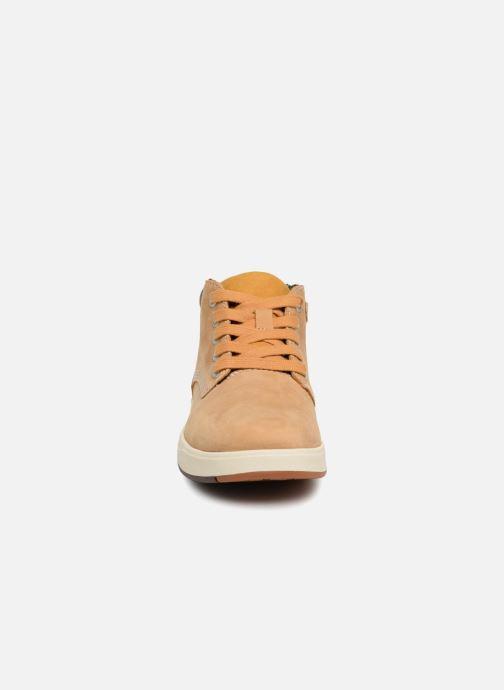 Timberland Davis Square Leather Chk (braun) - Stiefeletten & Boots bei Sarenza.de (342424)