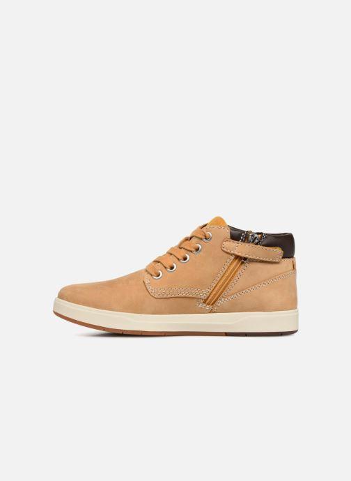 Stiefeletten & Boots Timberland Davis Square Leather Chk braun ansicht von vorne