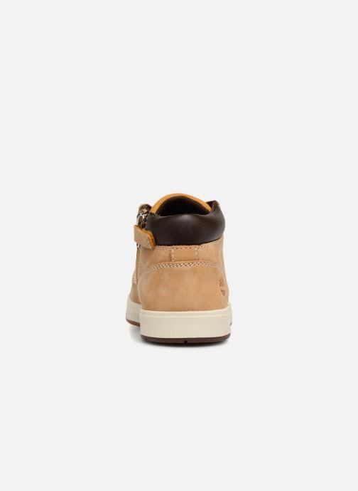 Bottines et boots Timberland Davis Square Leather Chk Marron vue droite