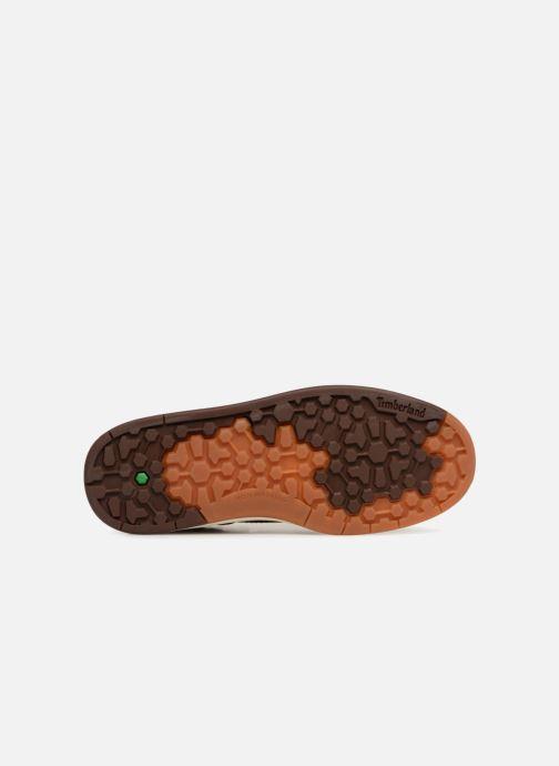 Bottines et boots Timberland Davis Square Leather Chk Marron vue haut