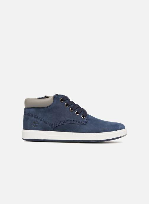Bottines et boots Timberland Davis Square Leather Chk Bleu vue derrière