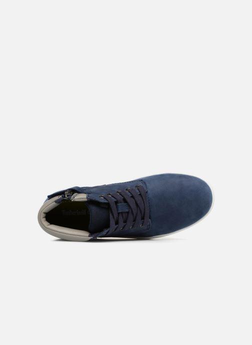 Bottines et boots Timberland Davis Square Leather Chk Bleu vue gauche