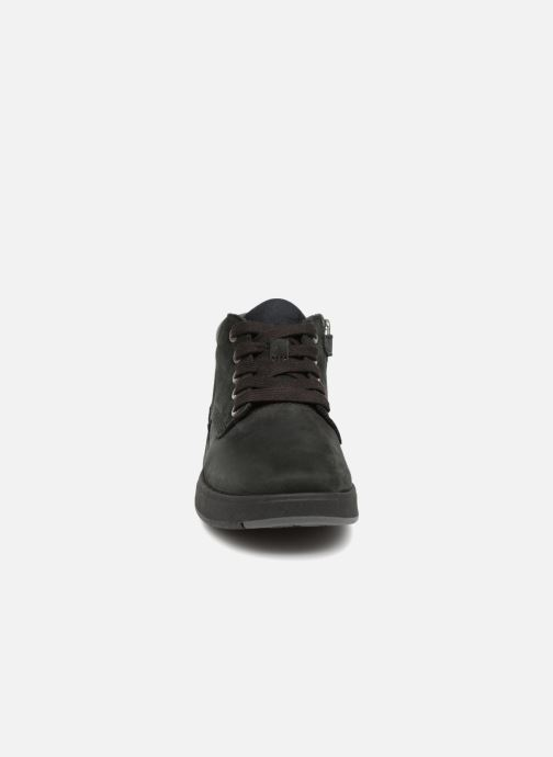 Ankle boots Timberland Davis Square Leather Chk Black model view