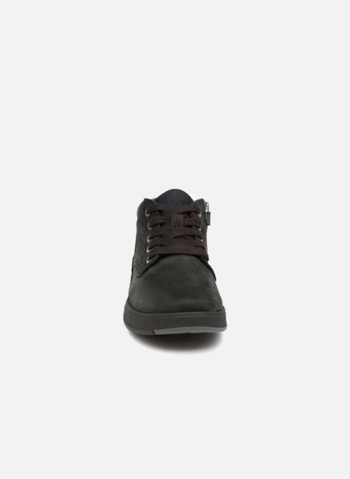 Bottines et boots Timberland Davis Square Leather Chk Noir vue portées chaussures