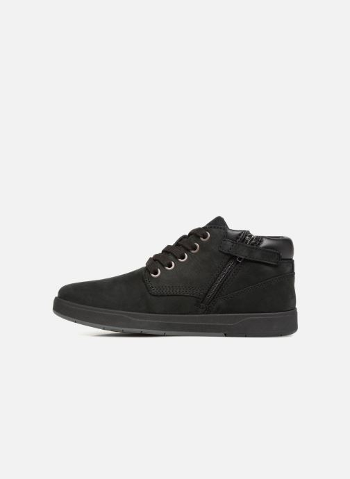 Bottines et boots Timberland Davis Square Leather Chk Noir vue face