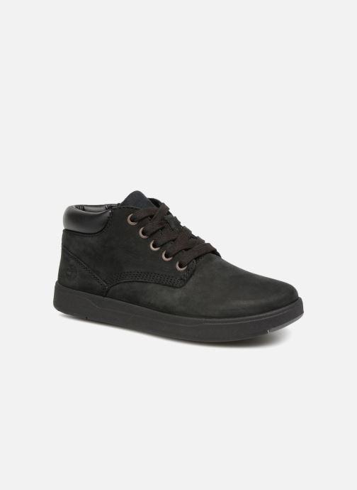 Bottines et boots Timberland Davis Square Leather Chk Noir vue détail/paire