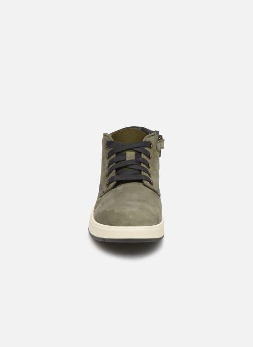 Bottines et boots Timberland Davis Square Leather Chk Vert vue portées chaussures