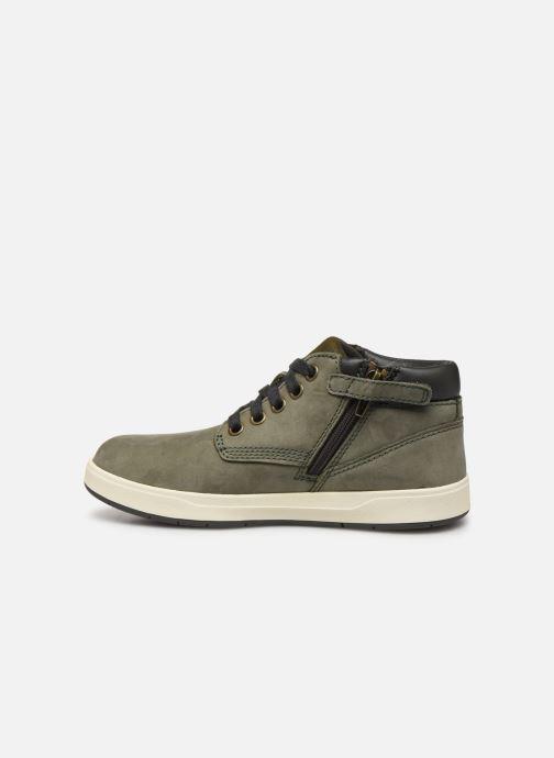 Boots en enkellaarsjes Timberland Davis Square Leather Chk Groen voorkant