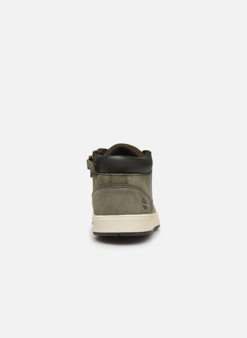 Boots en enkellaarsjes Timberland Davis Square Leather Chk Groen rechts