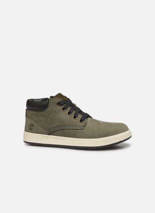 Bottines et boots Timberland Davis Square Leather Chk Vert vue derrière