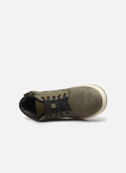 Stiefeletten & Boots Timberland Davis Square Leather Chk grün ansicht von links