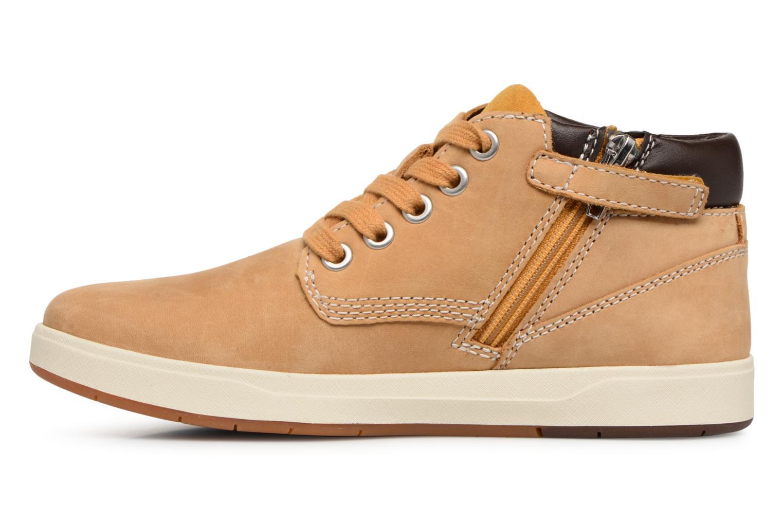 Bottines et boots Timberland Davis Square Leather Chk Marron vue face