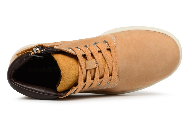 Bottines et boots Timberland Davis Square Leather Chk Marron vue gauche