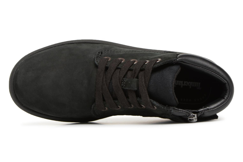 Bottines et boots Timberland Davis Square Leather Chk Noir vue gauche