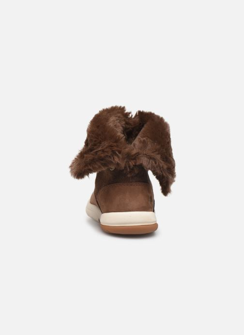 Bottes Timberland Toddle Tracks Bootie Marron vue droite