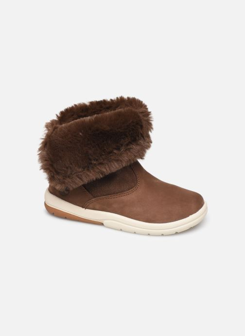 Støvler & gummistøvler Timberland Toddle Tracks Bootie Brun detaljeret billede af skoene
