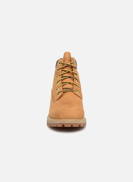 Bottines et boots Timberland 6 In Premium WP Boot - 45th anniversary Marron vue portées chaussures