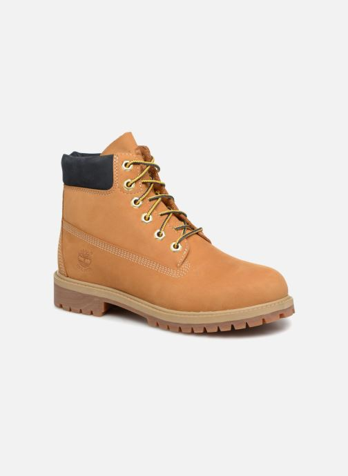 Bottines et boots Timberland 6 In Premium WP Boot - 45th anniversary Marron vue détail/paire