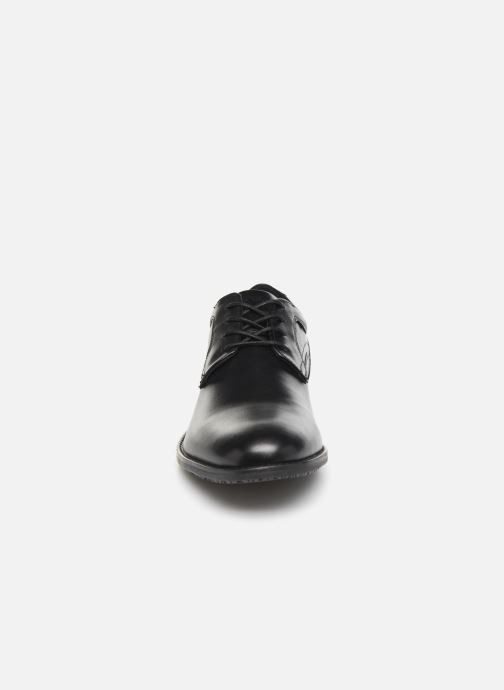 Schnürschuhe Rockport Dustyn Plain Toe schwarz schuhe getragen