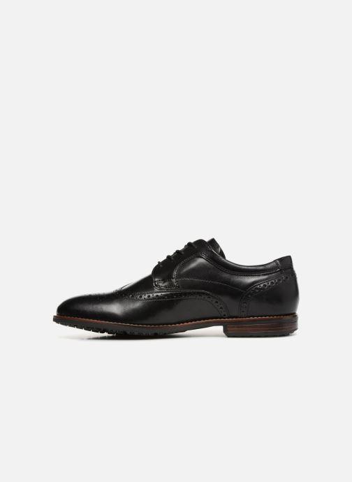 Zapatos con cordones Rockport Dustyn Wingtip Negro vista de frente