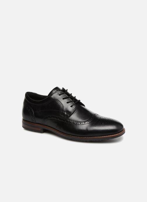 Zapatos con cordones Rockport Dustyn Wingtip Negro vista de detalle / par