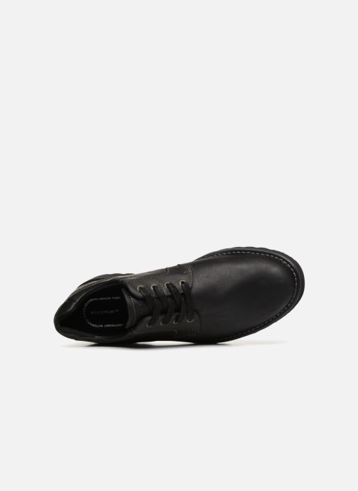 Lace-up shoes Rockport Westbrook PT Ox Black view from the left