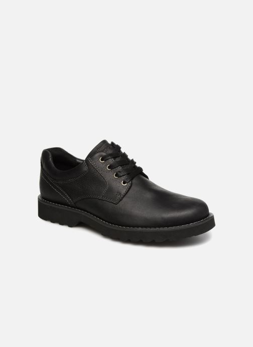 Lace-up shoes Rockport Westbrook PT Ox Black detailed view/ Pair view