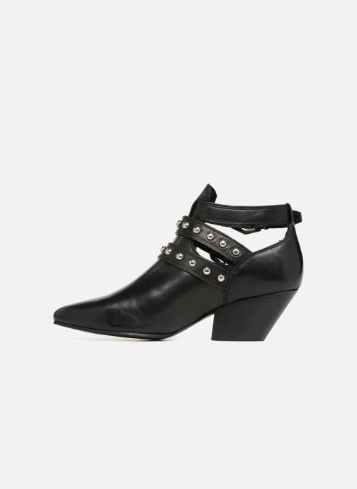 Ankle boots Bronx Bkeaton 33990 Black front view