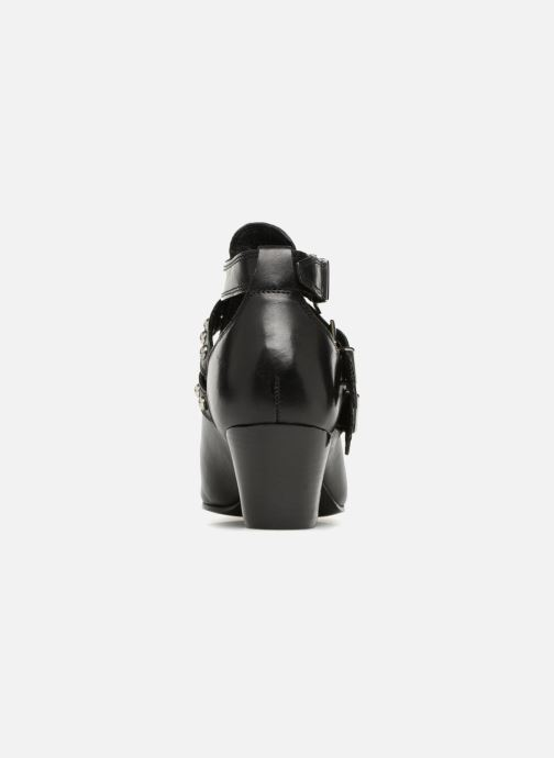 Ankle boots Bronx Bkeaton 33990 Black view from the right