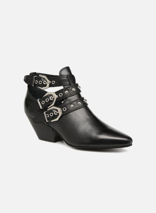 Ankle boots Bronx Bkeaton 33990 Black detailed view/ Pair view