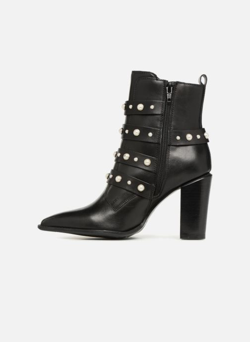 Ankle boots Bronx Bamericana 33995 Black front view