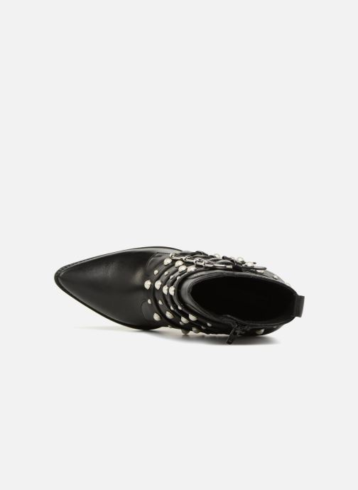 Ankle boots Bronx Bamericana 33995 Black view from the left