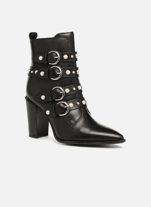 Ankle boots Bronx Bamericana 33995 Black detailed view/ Pair view