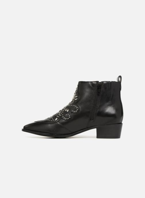 Ankle boots Bronx Btex-Chunky 47036 Black front view