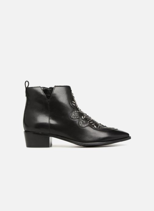 Ankle boots Bronx Btex-Chunky 47036 Black back view