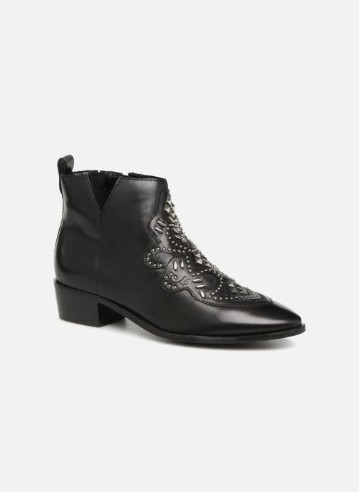 Ankle boots Bronx Btex-Chunky 47036 Black detailed view/ Pair view