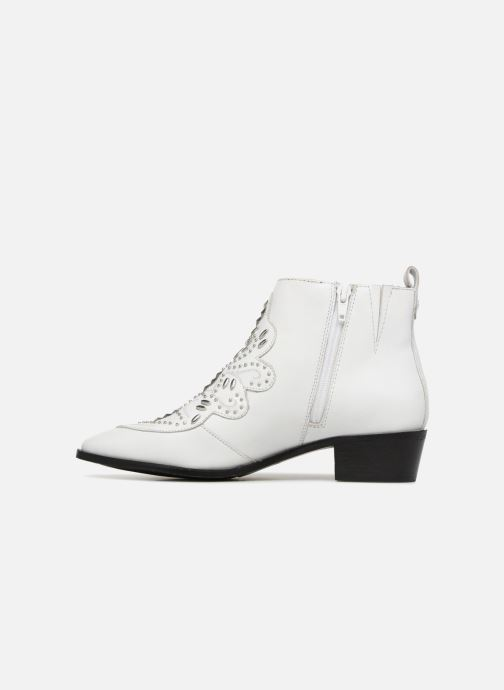 Ankle boots Bronx Btex-Chunky 47036 White front view