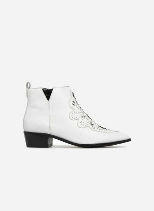 Ankle boots Bronx Btex-Chunky 47036 White back view
