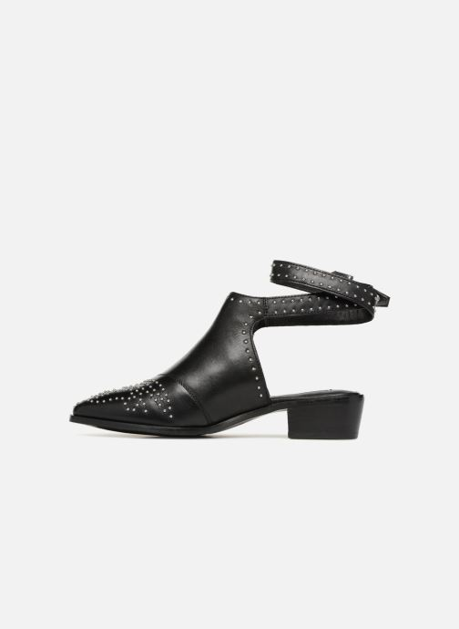 Ankle boots Bronx Btex-Chunky 47045 Black front view