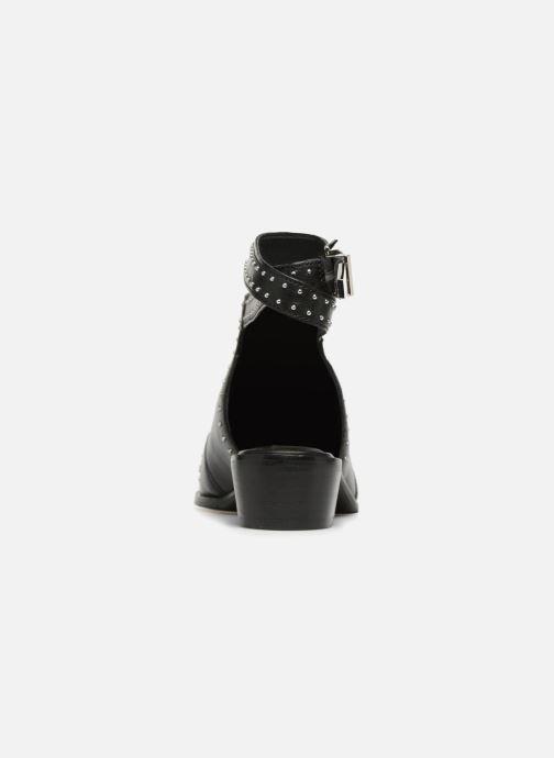 Bottines et boots Bronx Btex-Chunky 47045 Noir vue droite