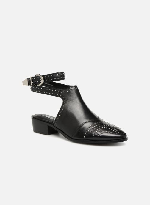 Ankle boots Bronx Btex-Chunky 47045 Black detailed view/ Pair view