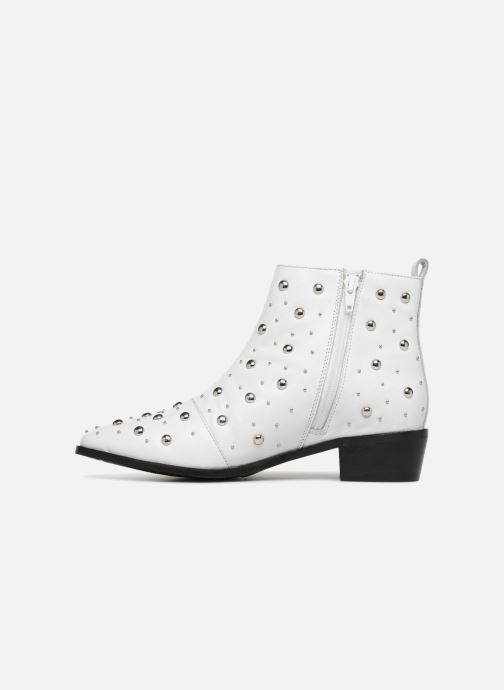 Ankle boots Bronx Btex-chunky 47062 White front view