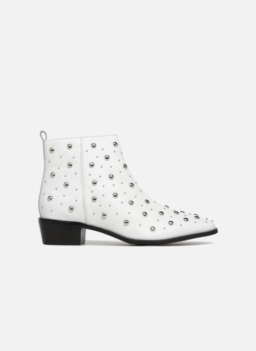 Ankle boots Bronx Btex-chunky 47062 White back view