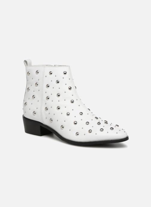 Ankle boots Bronx Btex-chunky 47062 White detailed view/ Pair view