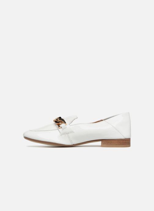 Loafers Bronx Bcerylx 66065 White front view