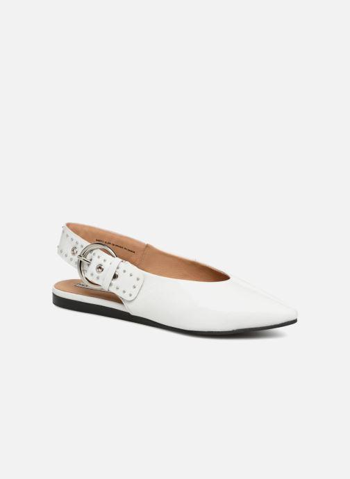 Ballerinaer Bronx Bfennerx 66072 Hvid detaljeret billede af skoene